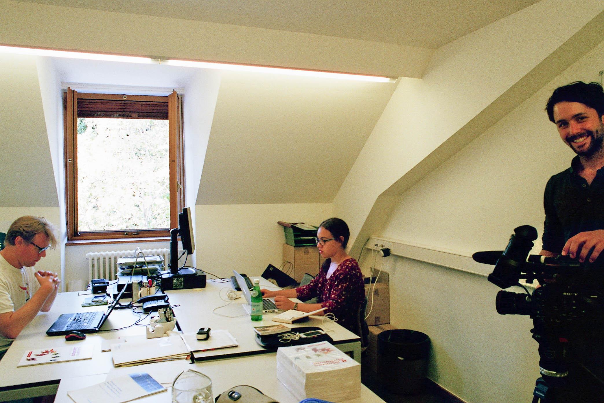 Dreh-im-Büro