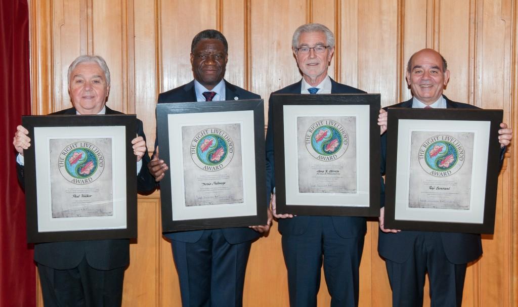 Right Livelihood Award 2013