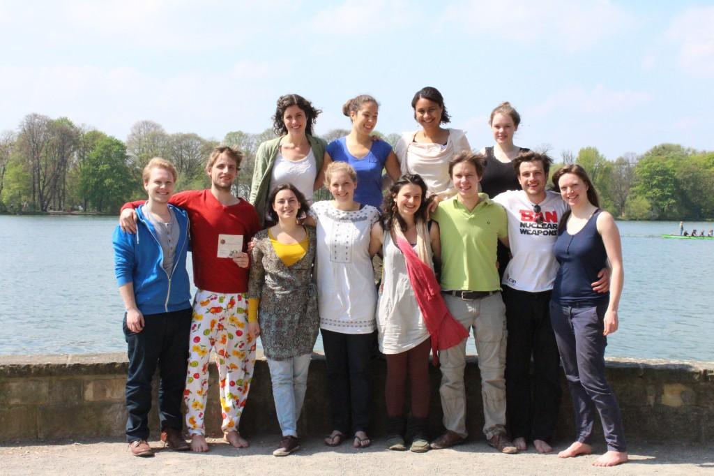 Gruppenfoto zum Abschluss des wunderbaren Treffens