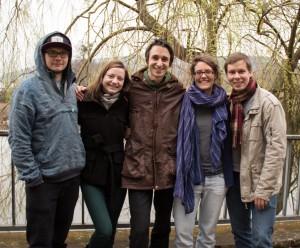 Neu im Vorstand: Richi, Svenja, Philipp, Alessa, Jonas