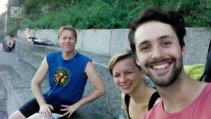 Selfie Kai, Alyn, Eva