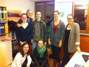 YFP-Delegation beim RLA-Büro in Stockholm
