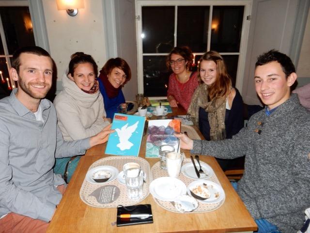 Meeting with other young engaged people from Germany! // Treffen mit anderen engagierten Jugendlichen aus Deutschland.